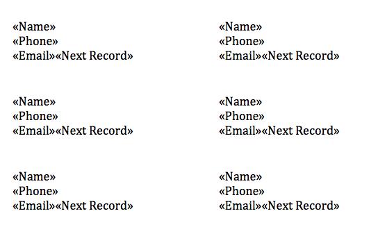 Label entries