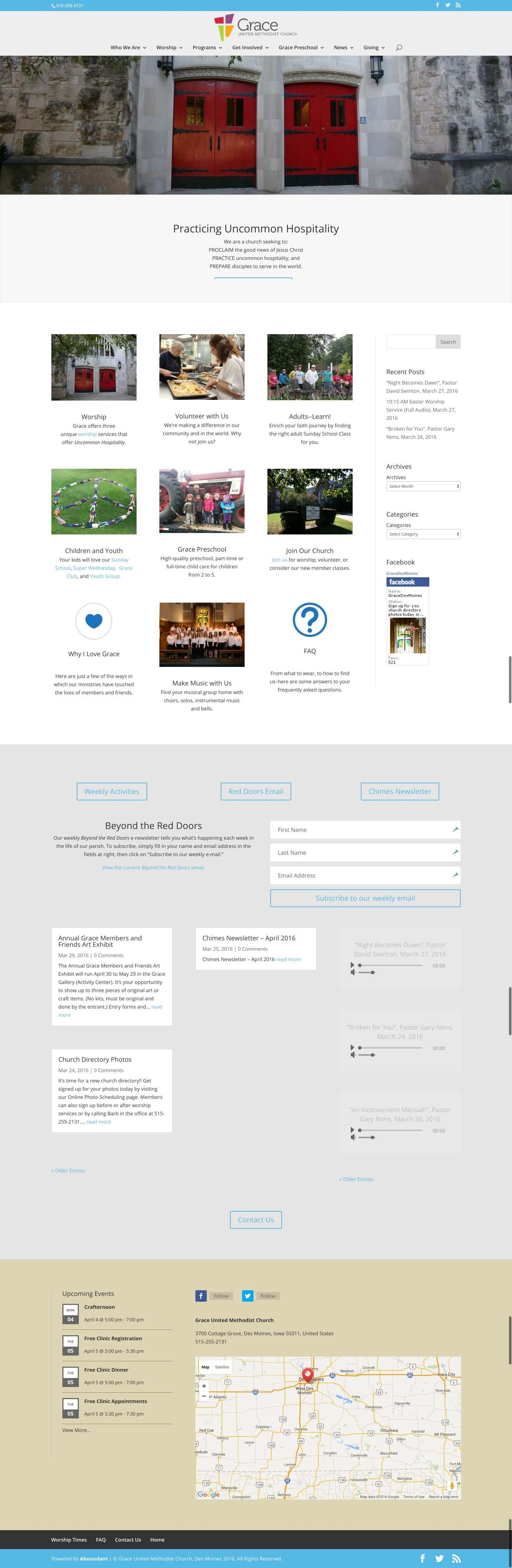 Grace United - Churches Using Divi