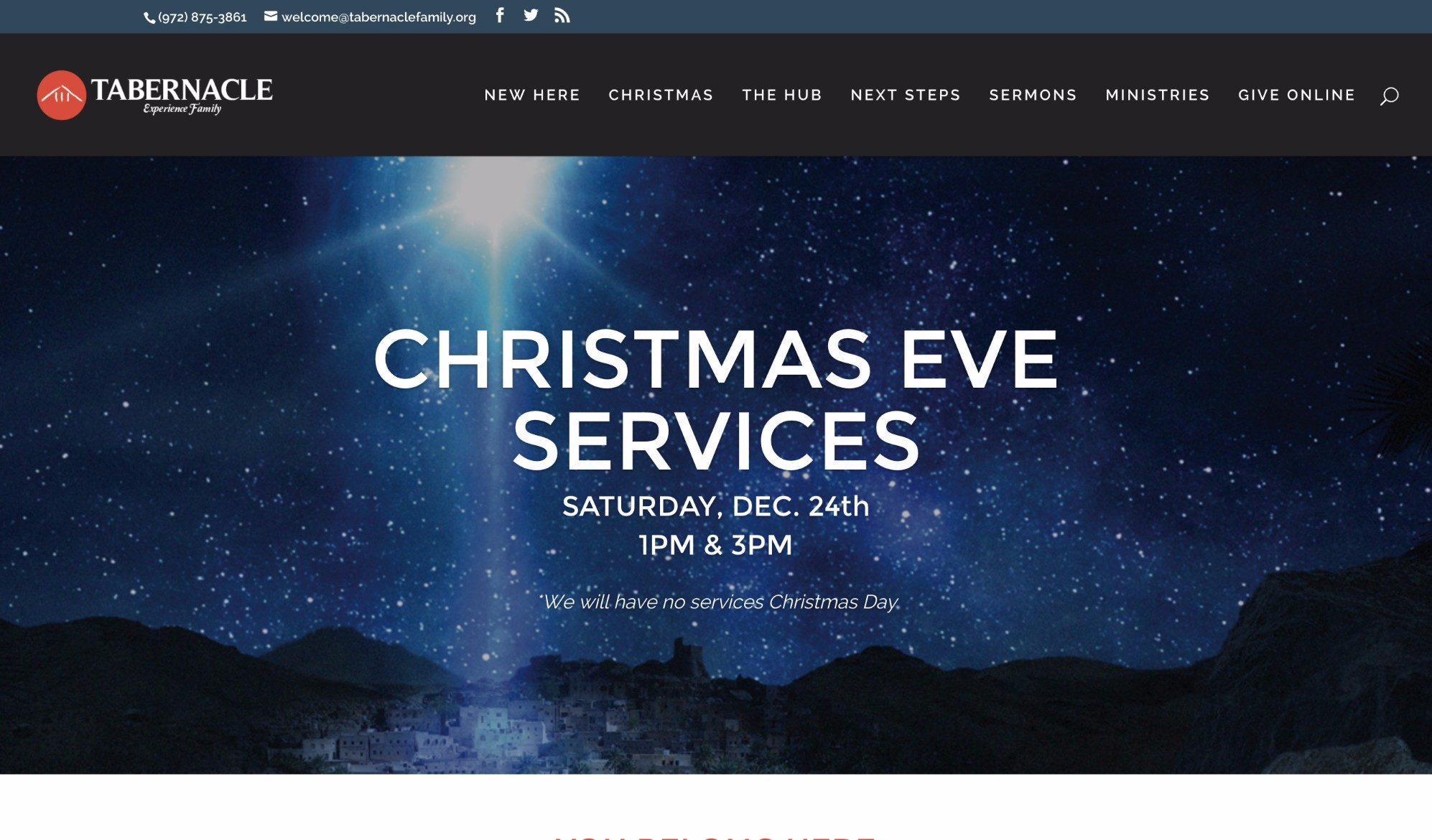 Buy Here Pay Here Knoxville >> 18 Powerful Examples of Churches Using the Divi Theme ...